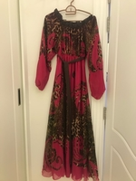 Used Pink and Brown Dress in Dubai, UAE