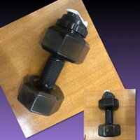 Used Plastic Water Jug Dumbell in Dubai, UAE
