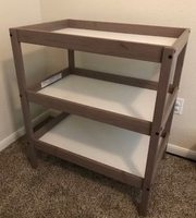Used 3 layer shelf for baby changing in Dubai, UAE