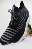 Used Sports shoes - women -black  in Dubai, UAE