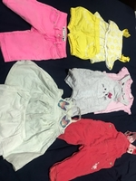 Used Baby girl clothes 6 to 9months in Dubai, UAE