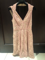 Used Bcbg baby pink lace dress  in Dubai, UAE