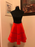 Used Luxury skirt red S & M in Dubai, UAE