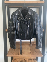 Used Zara leather jacket in Dubai, UAE