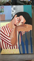 Used Sad woman painting in Dubai, UAE