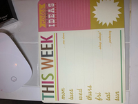 Used Weekly planner only few pages used in Dubai, UAE