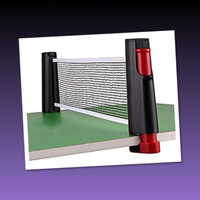 Used PORTABLE TABLE TENNIS NET// in Dubai, UAE