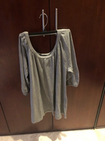 Used Grey top in large size. Gap in Dubai, UAE