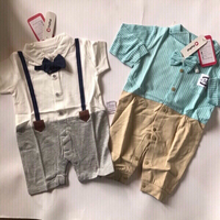 Used Baby jumpsuits 0-3 months/new in Dubai, UAE