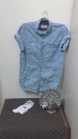 Used Blue shirt (M) in Dubai, UAE