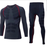Used Men's Compression Leggings and LS Shirt/ in Dubai, UAE
