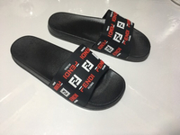 Used Fila slippers size 41, New in Dubai, UAE