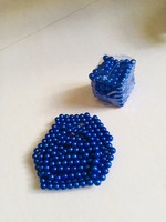 Used Magnetic balls blue  in Dubai, UAE