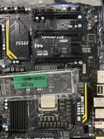 Used Motherboard z77 with core I5 3330s cpu in Dubai, UAE