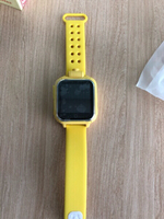 GPS tracker, smart watch - yellow