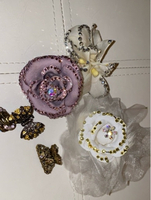 Used 6 Pieces combination hair clips&brooches in Dubai, UAE
