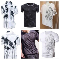 Used 3 Men's fashion casual T-shirts XL  in Dubai, UAE
