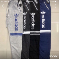 Used Trouser Adidas 4 pcs Large eid promo in Dubai, UAE