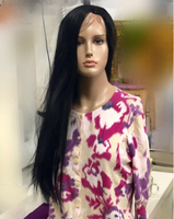 Used Natural Style Hair Wig Black 75 cm in Dubai, UAE