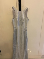 Used Evening Dress with long tail in Dubai, UAE