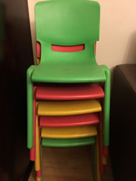 Used 6 chairs for kids ' different colors '  in Dubai, UAE