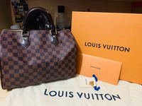 Used Louis Vuitton Speedy 30 Damier Ebene in Dubai, UAE