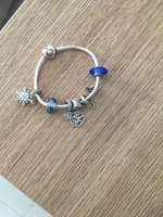 Used Pandora bracelet with charms in Dubai, UAE