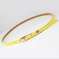 Used 1 ladies belt yellow  in Dubai, UAE