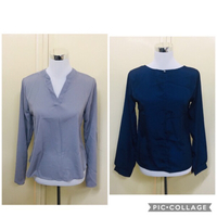 Elegant ladies shirts New Size S to M
