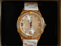 Used white and gold watch in Dubai, UAE