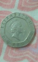 Used 20pence coin  since 1989 old coin in Dubai, UAE