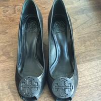 Used Tory Burch Black Wedge Open Toe in Dubai, UAE