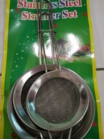 Used Strainer set 3pcs in Dubai, UAE
