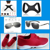 Used SNEAKERS+SUNGLASSES+SHOULDER SUPPORT in Dubai, UAE