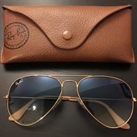 Used Rayban Aviator Authentic Large in Dubai, UAE