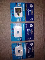Used Micro sd card 16 gb 3 pcs bundle in Dubai, UAE