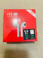 Used I12 wireless airpods with h1 chip white in Dubai, UAE