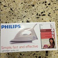Used Philips Lightweight Quality Iron New Pack Pcs in Dubai, UAE