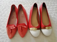 Used Two red elegant flats size 5/38 in Dubai, UAE