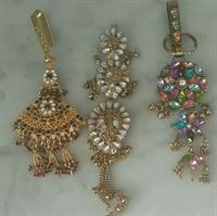 Indian Style Waist Jhumkas With Key Ring