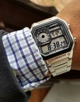 CASIO Steel illuminator ✔Original Watch
