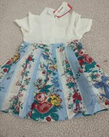 Used 1 pcs patpat lovely floral dress 18 to24 in Dubai, UAE