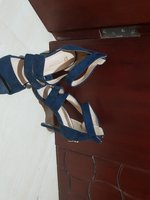 Used Navy blue formal high heels in Dubai, UAE