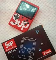Used Sup game box. 400 retro game in mini gam in Dubai, UAE