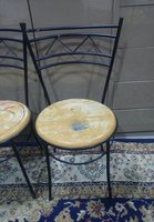 Used Strong Chairs only seats little chipped in Dubai, UAE
