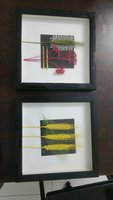 Wall hanging set of 2 pcs
