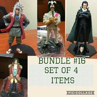 Used One piece & Naruto set collectibles in Dubai, UAE
