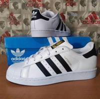 2 Pair Of Adidas Superstar For Sale
