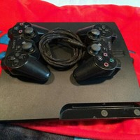 Used PS3 w/ Controllers And Charging Cable (Used) in Dubai, UAE