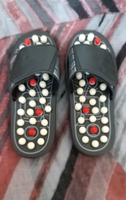 Used Massage Slippers black in Dubai, UAE